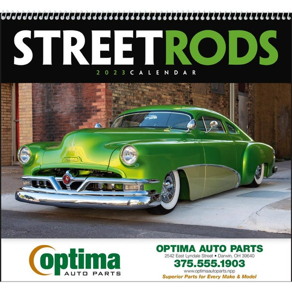 Street Rods Appointment Calendar
