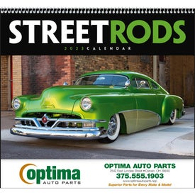 Branded Street Rods Appointment Calendar