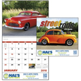Street Rods Spiral Calendar for your School