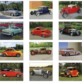 Street Rods Spiral Calendar for Promotion