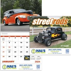 Street Rods Calendar (2021, Spiral)