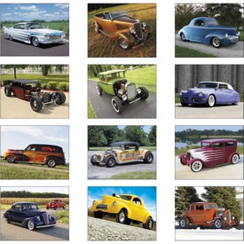 Personalized Street Rods Stapled Calendar