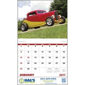 Printed Street Rods Stapled Calendar