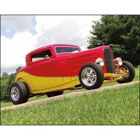 Street Rods Stapled Calendar Imprinted with Your Logo