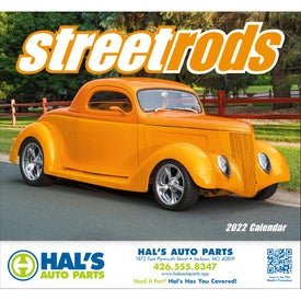 Street Rods Stapled Calendar (2017)