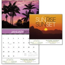 Customized Sunsets Appointment Calendar