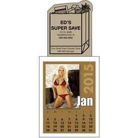 Custom Swimsuit Stick Up Calendar