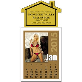 Imprinted Swimsuit Stick Up Calendar