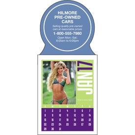 Promotional Swimsuit Stick Up Calendar