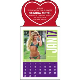 Swimsuit Stick Up Calendar with Your Logo