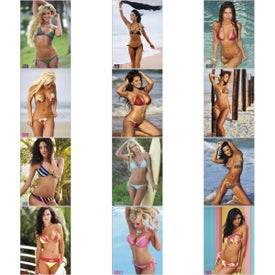 Printed Swimsuits Executive Calendar