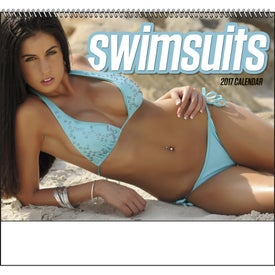 Swimsuits Spiral Calendar with Your Logo