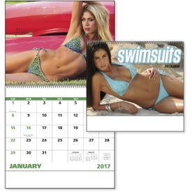 Swimsuits Spiral Calendar for Marketing