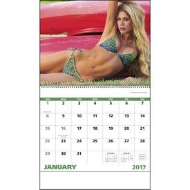 Company Swimsuits Spiral Calendar