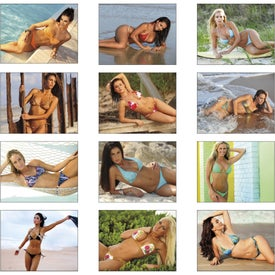 Promotional Swimsuits Spiral Calendar