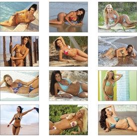 Promotional Swimsuits Spiral Calendar