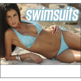 Swimsuits Stapled Calendar Giveaways