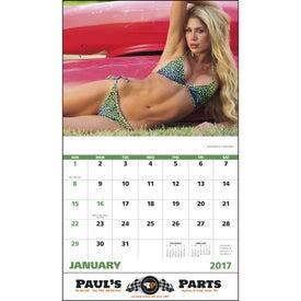 Customized Swimsuits Stapled Calendar