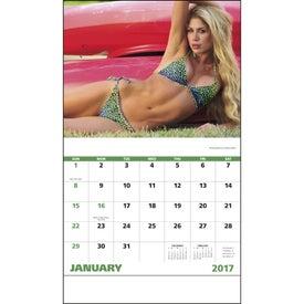 Branded Swimsuits Stapled Calendar