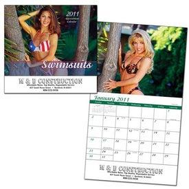 Swimsuits Wall Calendar