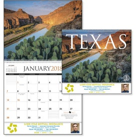 Texas Appointment Calendar for Customization