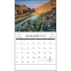 Personalized Texas Appointment Calendar