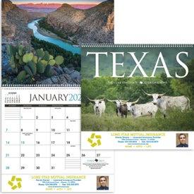 Texas Appointment Calendar (2020)