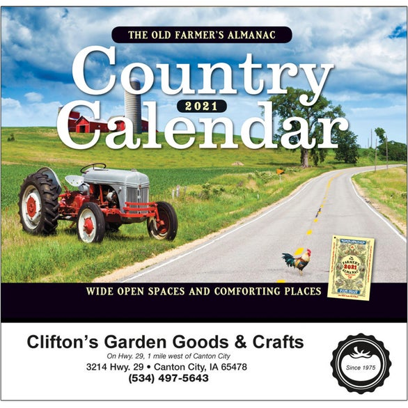 See Item The Old Farmer Almanac Country