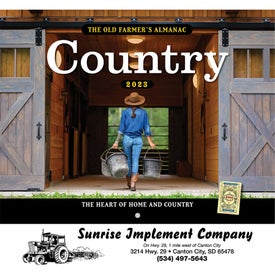 The Old Farmer Almanac Country (Stapled)