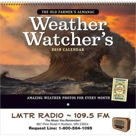 The Old Farmer Almanac Weather Watcher (Spiral)