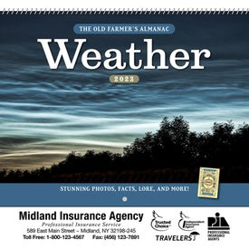 The Old Farmer Almanac Weather Watcher (2021, Spiral)