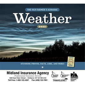 Old Farmer Almanac Weather Watchers (2022, Stapled)