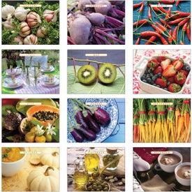 The Old Farmer Almanac Recipe Wall Calendar with Your Logo