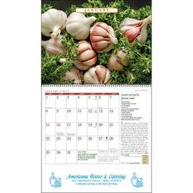 Personalized The Old Farmer Almanac Recipe Wall Calendar