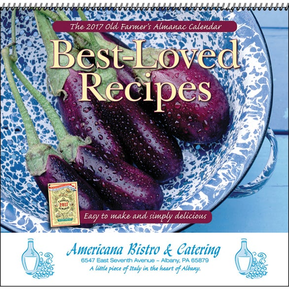 The Old Farmer Almanac Recipe Wall Calendar