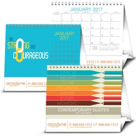Branded Contemporary Quotes Calendar