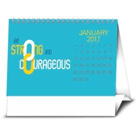 Imprinted Contemporary Quotes Calendar