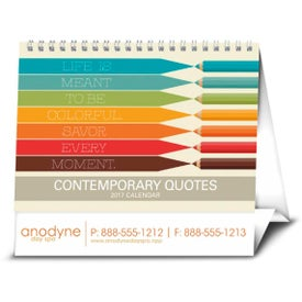 Personalized Contemporary Quotes Calendar