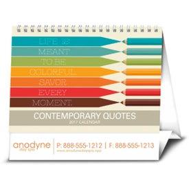 Personalized Contemporary Quotes Calendar