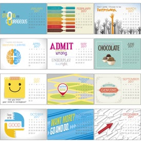 Company Contemporary Quotes Calendar