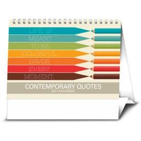 Contemporary Quotes Calendar for Advertising
