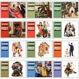 Promotional Saturday Evening Post Pocket Calendar