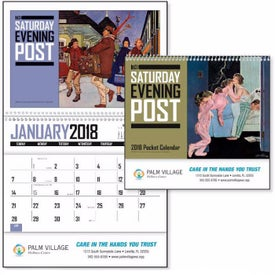 Saturday Evening Post Pocket Calendar for Promotion