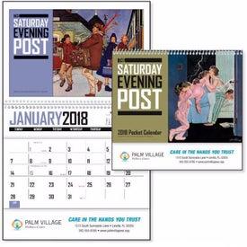 Saturday Evening Post Pocket Calendar for Promotion
