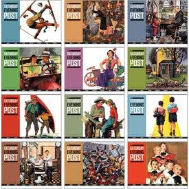 Saturday Evening Post Calendar for Marketing