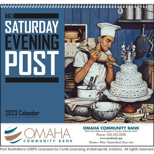 The Custom Saturday Evening Post Calendar