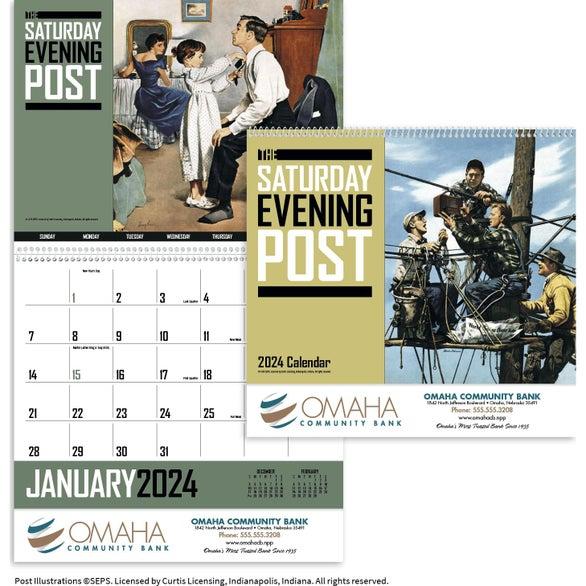 Saturday Evening Post Calendar (2020)