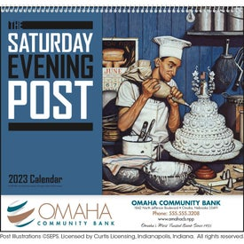Saturday Evening Post Calendar (2017)