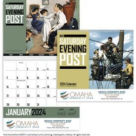 Customized Saturday Evening Post Calendar