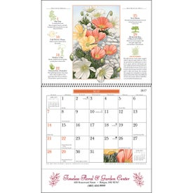 The Old Farmer Almanac Gardening Wall Calendar for Promotion